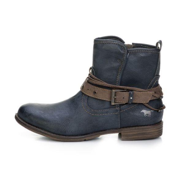 Mustang dámská kotníčková obuv 36 tmavě modrá