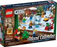LEGO City 60155 Adventní kalendář - rozbaleno