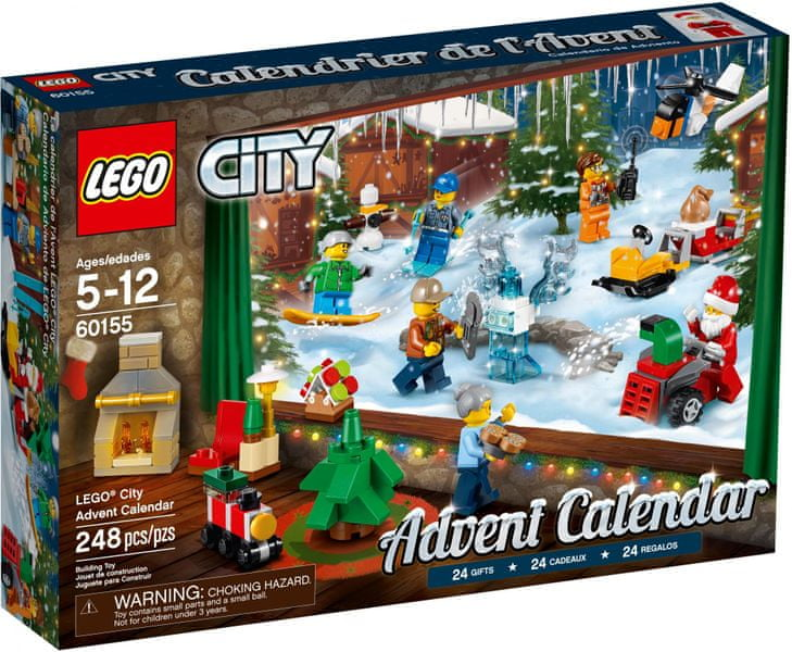 LEGO® City 60155 Adventní kalendář