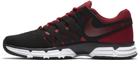 Nike športni copati Lunar Fingertrap TR, črno-rdeči, 42