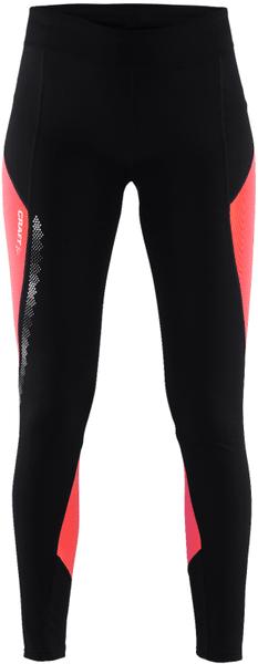 Craft Kalhoty Brilliant 2.0 Thermal Černá Růžová XS