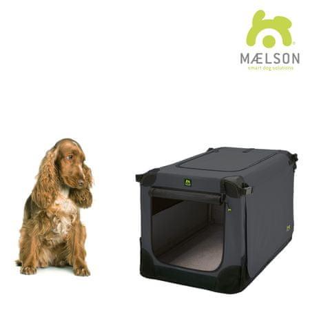 Maelson składana skrzynia dla psa Soft Kennel, czarny/antracyt, rozm. 72