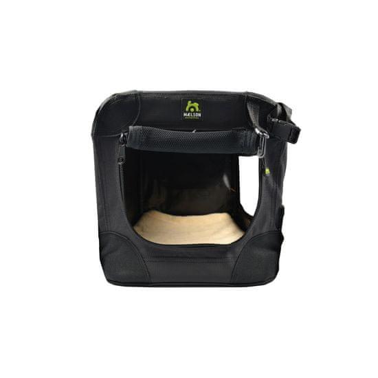 Maelson Soft Kennel transporter z naramnicami, črn/antraciten