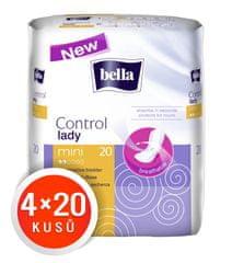 Bella higienski vložki Control Lady Mini, 4 x 20 kosov