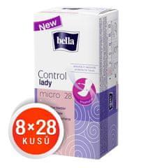 Bella Control Lady Micro vložki, 8 x 28 kosov
