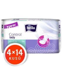 Bella higienski vložki Control Lady Extra, 4 x 14 kosov