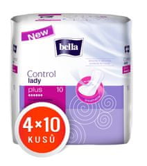 Bella Control Lady Plus vložki, 4 x 10 kosov