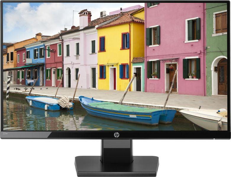"""HP 22w - LED monitor 22"""" (1CA83AA)"""