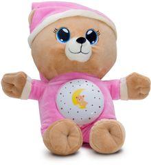 Teddies Medvedík Uspávačik ružový