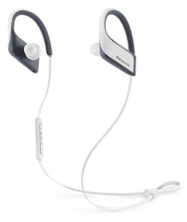 Panasonic brezžične slušalke RP-BTS30E, bele