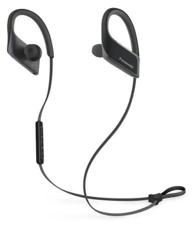 Panasonic brezžične slušalke RP-BTS30E, črne