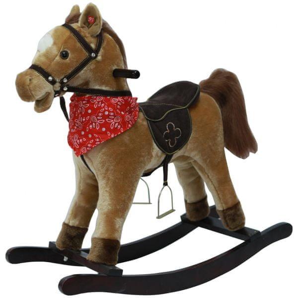 Teddies Houpací kůň hnědý