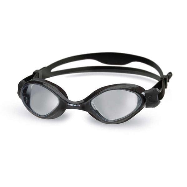Head Brýle plavecké TIGER MID, kouřová/černá