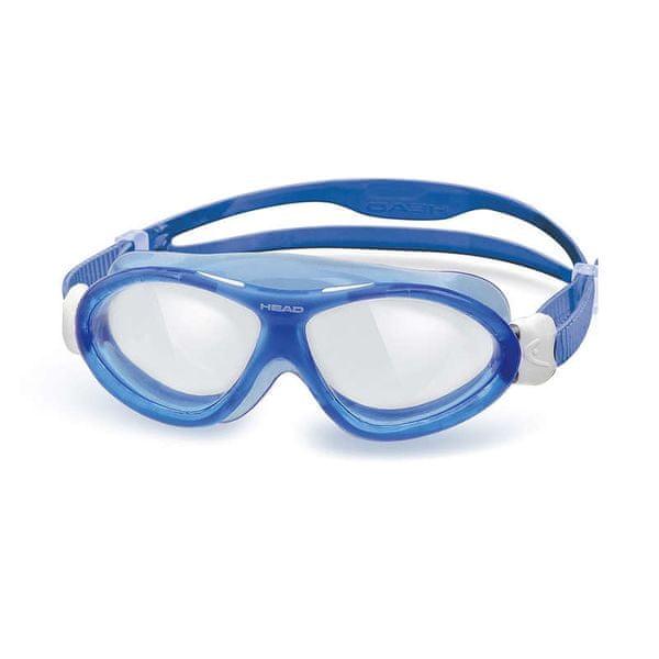Head Brýle plavecké MONSTER junior, trans/modrá