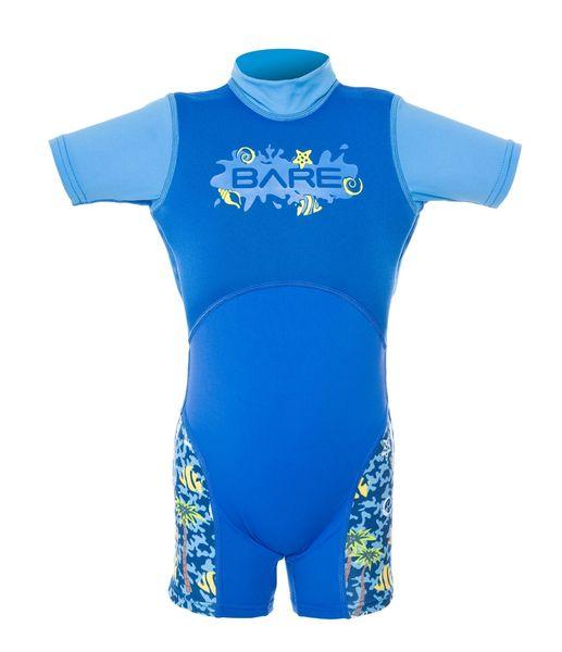 BARE Neopren DOLPHIN FLOATY dětský, modrá, 6