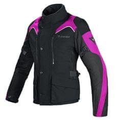 Dainese dámská tour moto bunda  TEMPEST D-DRY LADY černá/růžová, textilní