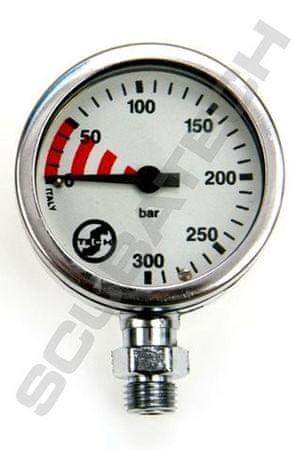TECLINE Manometr S-TECH 300 bar, Tecline