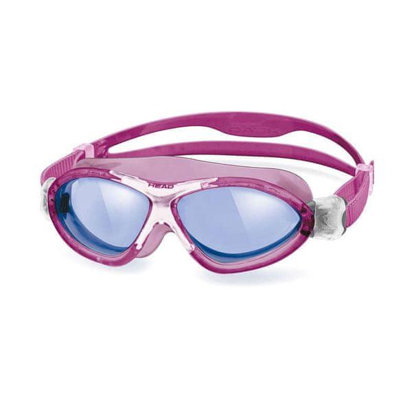 Head Brýle plavecké MONSTER junior, modrá/růžová