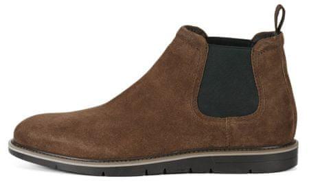 Geox pánská kotníčková obuv Uvet 46 hnědá