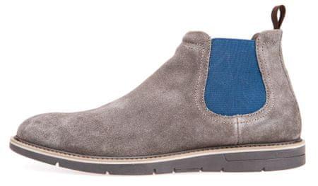 Geox pánská kotníčková obuv Uvet 45 šedá