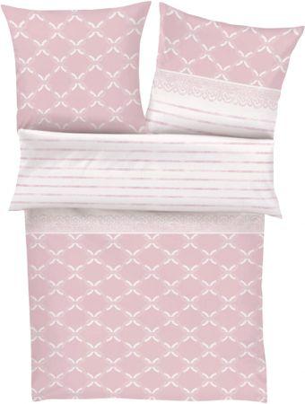 Zeitgeist posteljnina Flanell, roza