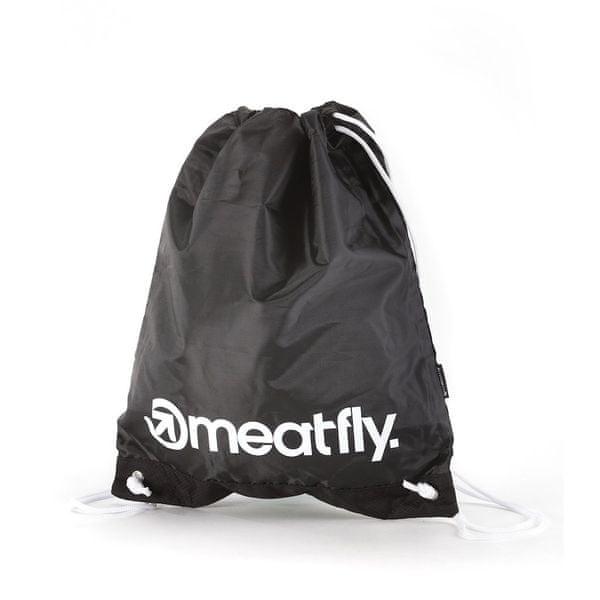 MEATFLY unisex pytlík Flatout Benched Bag černá uni