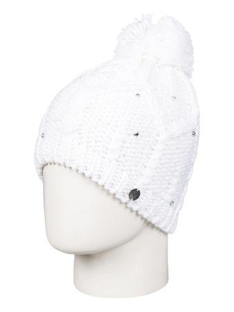 ROXY damska czapka Shoot Star Bean J Hats Bright White