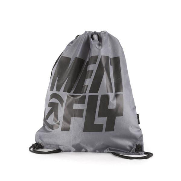 MEATFLY unisex pytlík Swing Benched Bag šedá uni