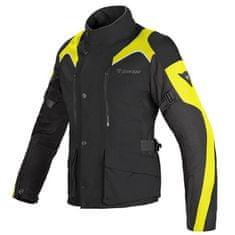 Dainese dámská tour moto bunda  TEMPEST D-DRY LADY černá/fluo-žlutá, textilní