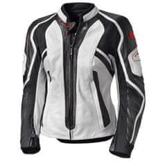 Held dámská kožená bunda na motorku  NAMIKO bílá/černá
