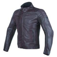 Dainese pánská kožená moto bunda  BRYAN hnědá
