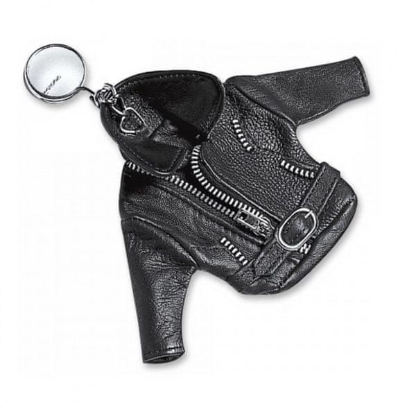 Held přívěsek - kožená bunda, černý