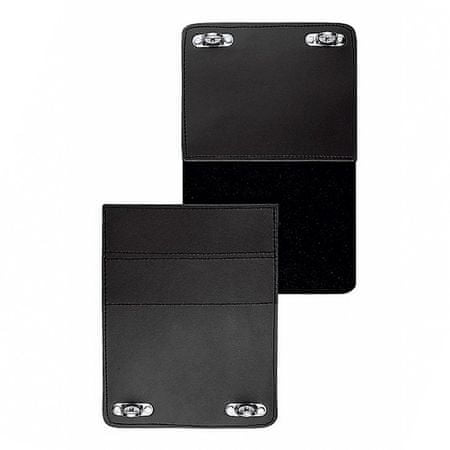 Held cLICK system univerzálny pás pre tašky  so suchým zipsom, čierny, koža