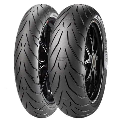Pirelli angel GT 120/70 ZR17 (58W) + 160/60 ZR17 (69W) TL