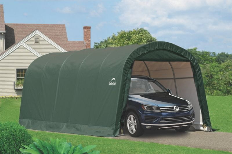 ShelterLogic plachtová garáž SHELTERLOGIC 3,7 x 6,1 m - 62760EU