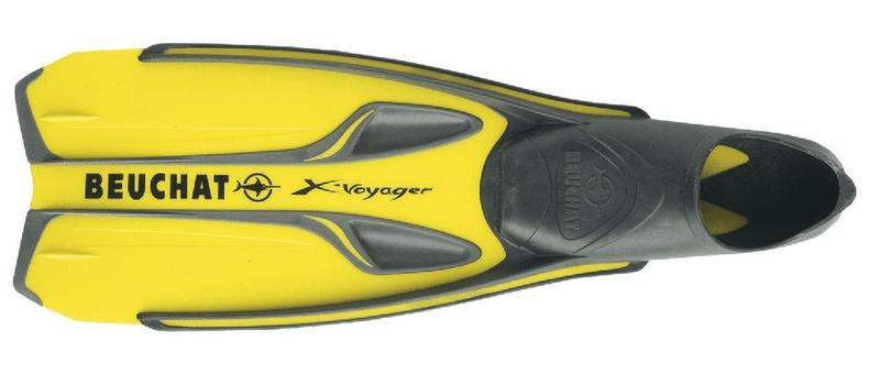 Beuchat Ploutve X-VOYAGER, žlutá, 36/37