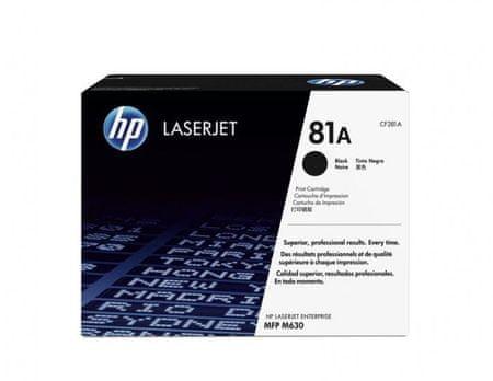 HP toner 81A, 10500 strani, črn (CF281A)