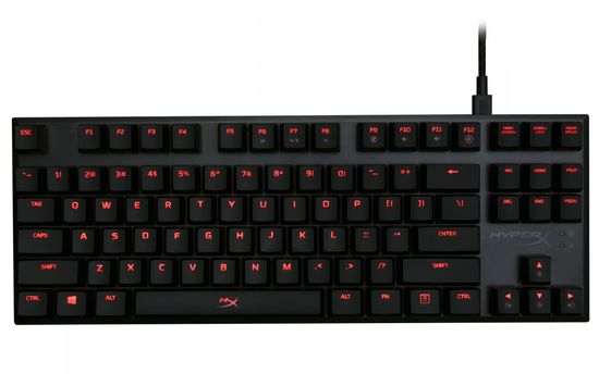HyperX gaming tipkovnica HyperX ALLOY FPS Pro CherryMX red, gaming (HX-KB4RD1-US/R2), US-SLO
