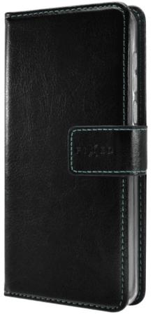 Fixed Pouzdro typu kniha Opus (Huawei P9 Lite 2017), černá - rozbaleno