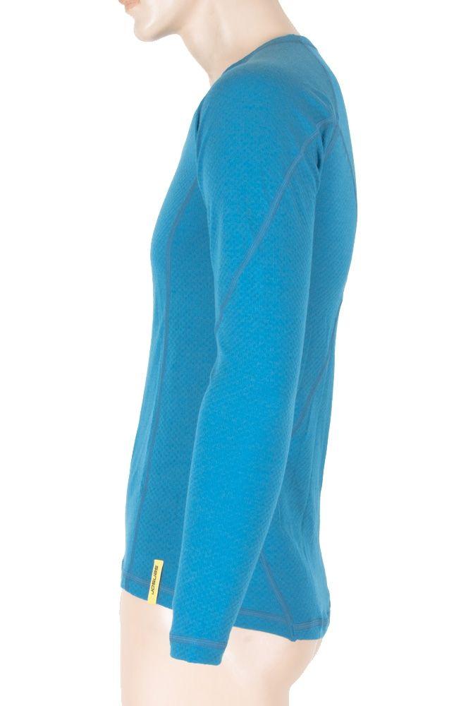 Sensor Merino DF pánské triko dl. rukáv modrá S