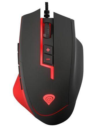 Genesis Gaming MMO laserska gaming miška GX85, 8200 DPI