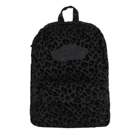 Vans Wm Realm Backpack Black Leopar OS hátizsák  396458eaed