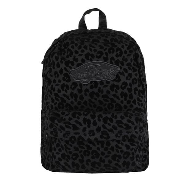 Vans Wm Realm Backpack Black Leopar OS