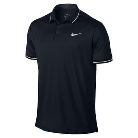 Nike koszulka tenisowa M NKCT DRY POLO SOLID PQ Black M