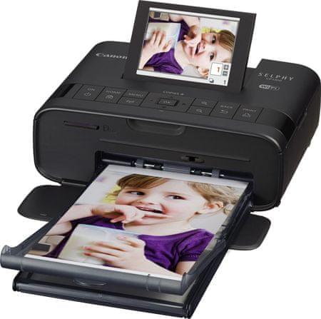 Canon drukarka termosublimacyjna CP1300 Selphy Black