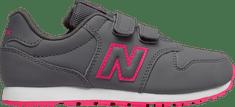 New Balance otroški čevlji KV500PNY, sivi