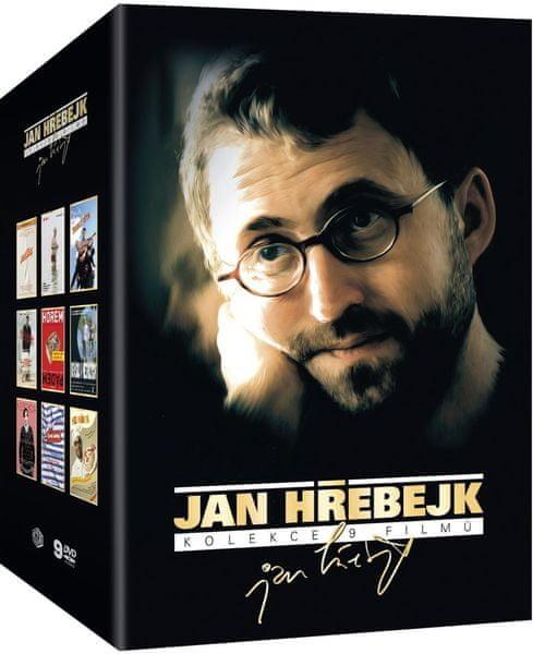JAN HŘEBEJK - Kolekce filmů (9DVD) - DVD