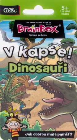 Albi Vo vrecku! Dinosaury