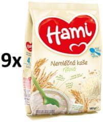 Hami kaše nemléčná rýžová 9x180g exp. duben 2019