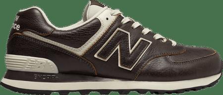 New Balance moški čevlji ML574LUE, rjavi, 45,5
